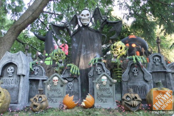 halloween decorating ideas for the yard the home depot home