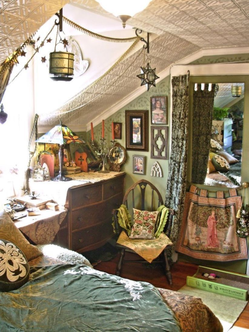 amazing 34 amazing witchy apartment bedroom design http on home interior design bedroom id=11917