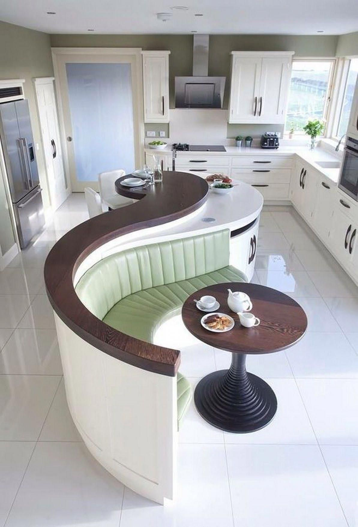 This Is A Very Unique Lovely Kitchen Design Different From The