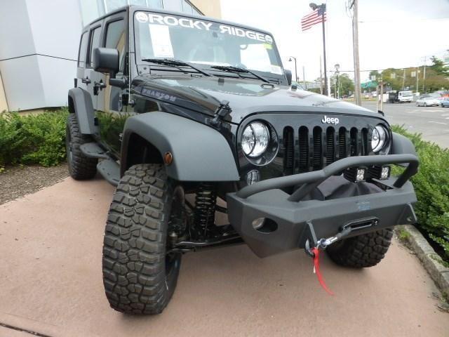 New 2015 Jeep Wrangler Unlimited Sport Rocky Ridge Phantom For