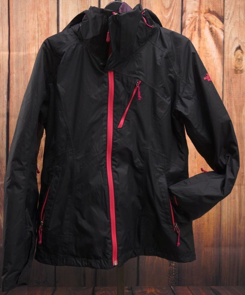 North Face Womens Triclimate Black Down Hooded Jacket Puffer Parka Coat Sz  M  TheNorthFace   215b56dd7