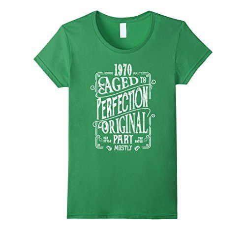 Aged to Perfection 1970 - Vintage 46th Birthday Gift T-shirt