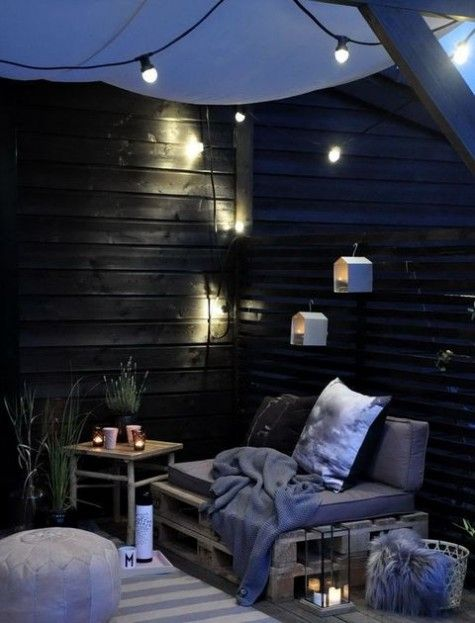 ComfyDwelling.com » Blog Archive » 50 Peaceful And Relaxing Scandinavian  Terrace Decor Ideas. Contemporary ...