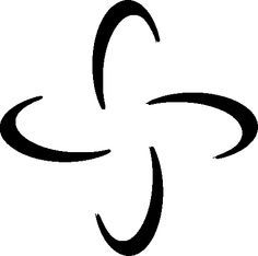 tabono- African symbol for strength, confidence