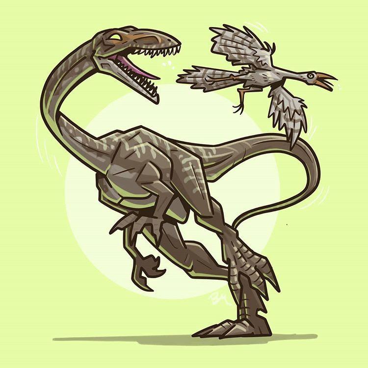 Jurassic World PRIMAL ATTACK Ornitholestes Attack Pack Jurassic Park Mattel