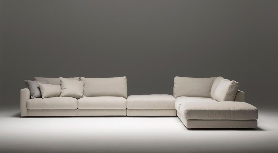 designer modul ecksofa von sitzfeldt in beige aus bestmoglichem qualitatsstoff design sofa wohnzimmer