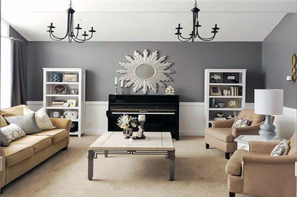 Square Living Room Decor Ideas Piano Living Rooms Formal Living