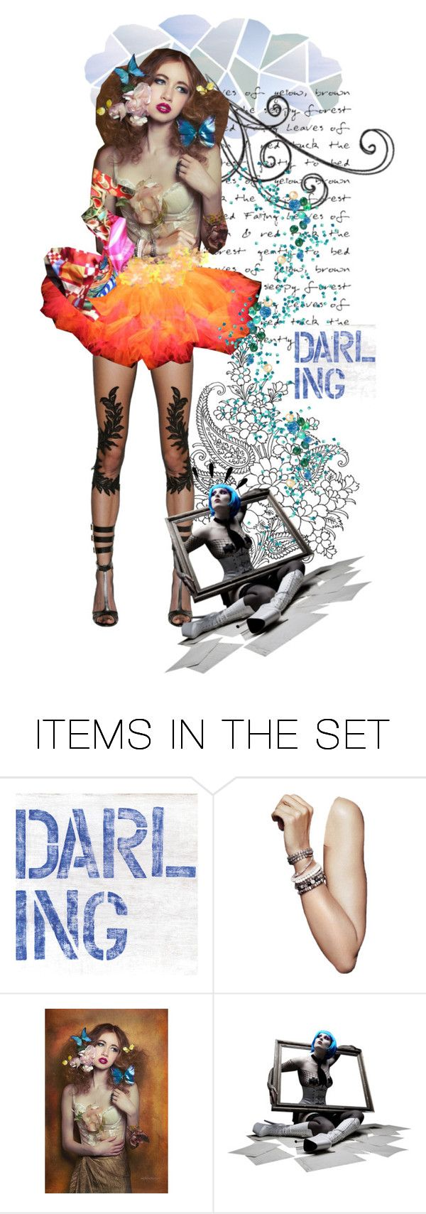 """""""~DARLING~ TAS 4/19/16"""" by confusgrk ❤ liked on Polyvore featuring art"""