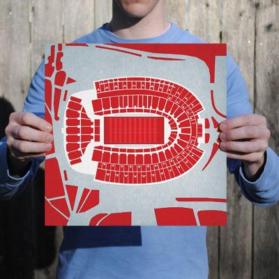 Congratulations To The Ohio State Buckeyes On Winning The 2015 National Championship And The First College Football Playoff Remember Thi Champions Ohio Stadium Map Art Prints