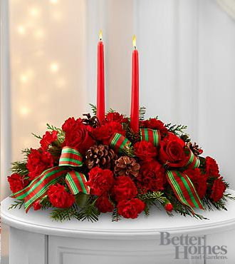 The FTD® Holiday Classics™ Centerpiece By Better Homes And Gardens®