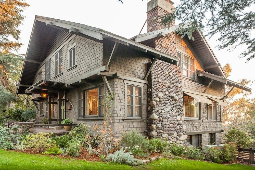 Buy A Burly South Pasadena Craftsman By The Brothers Greene Craftsman House Craftsman Style Homes Craftsman Bungalows