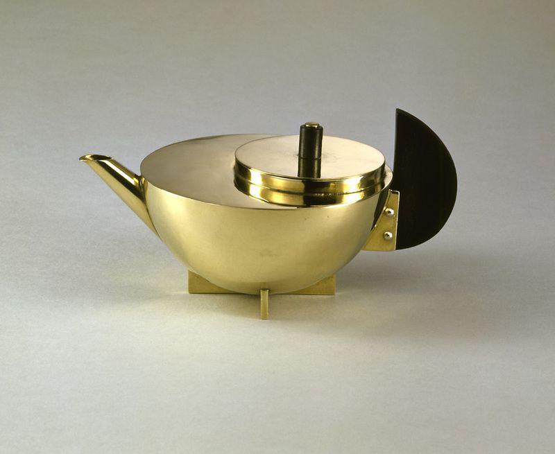 BAUHAUS TEAPOT by MARIANNE BRANDT (1924) PRICE 361,000