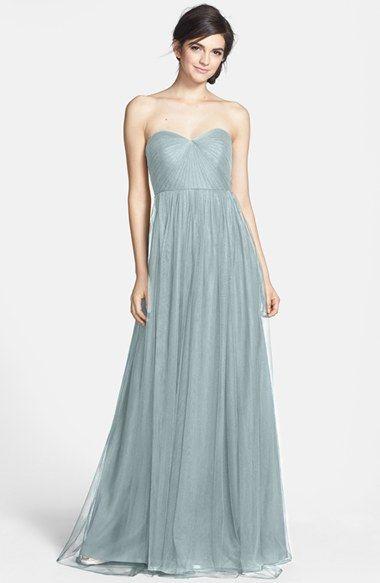 c8a5c18c45 Jenny Yoo 'Annabelle' Convertible Tulle Column Dress (Regular & Plus Size)    Nordstrom - mayan blue?
