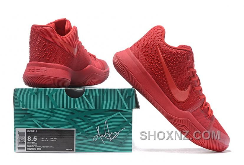 online retailer 6b280 e6661 Find Nike Kyrie 3 Mens BasketBall Shoes All Red Cheap To Buy online or in  Jordany. Shop Top Brands and the latest styles Nike Kyrie 3 Mens BasketBall  Shoes ...