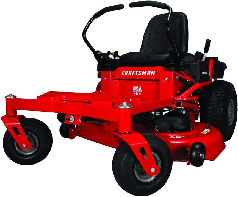 Craftsman Z525 Zero Turn Gas Powered Lawn Mower Red In 2020 Best Riding Lawn Mower Riding Lawn Mowers Mower