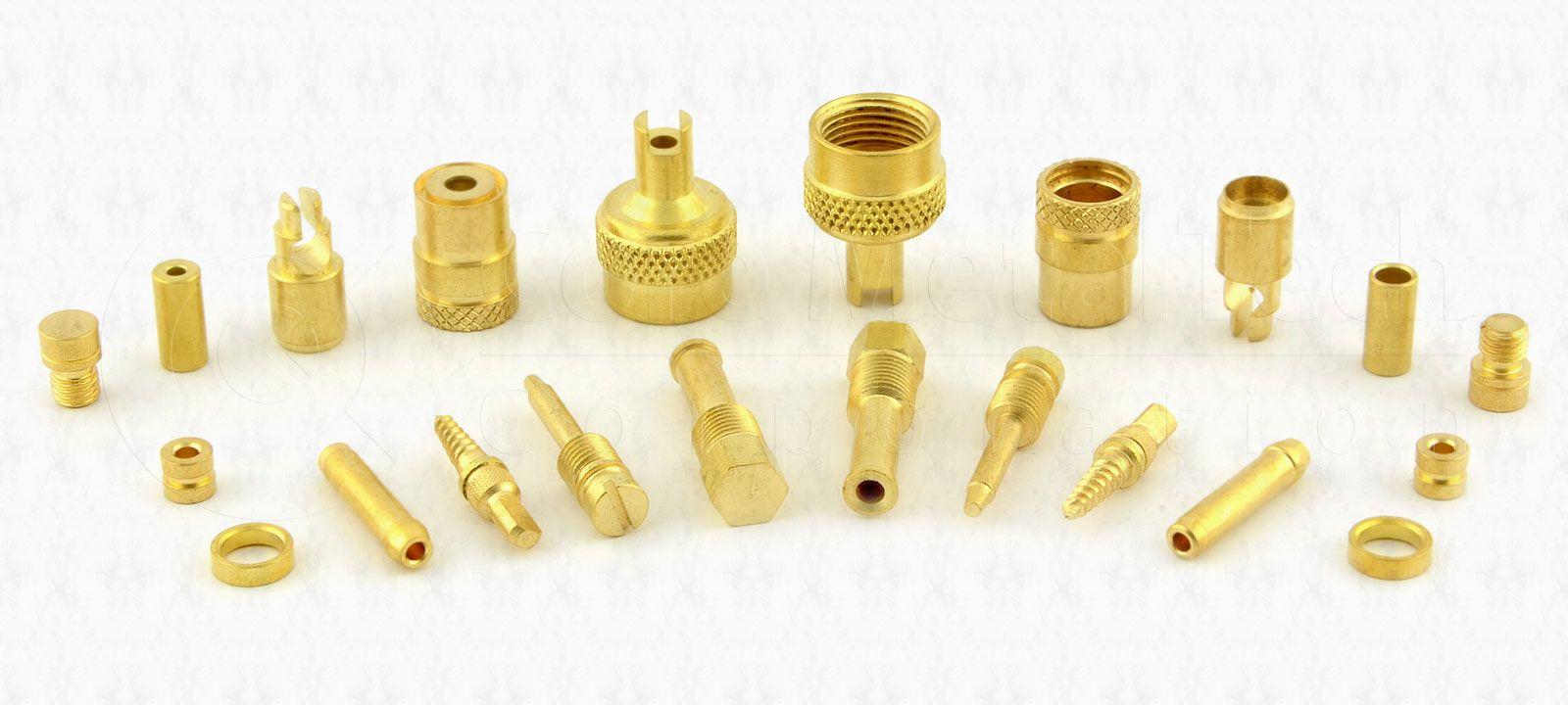Brass Auto Parts Custom Metal Electrical Socket Brass
