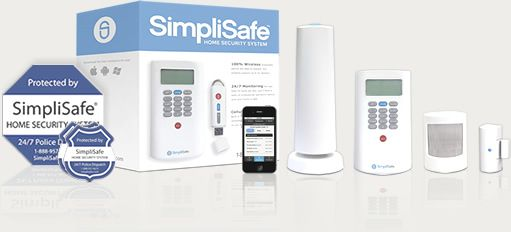 Starter security system package from SimpliSafe simplysafe