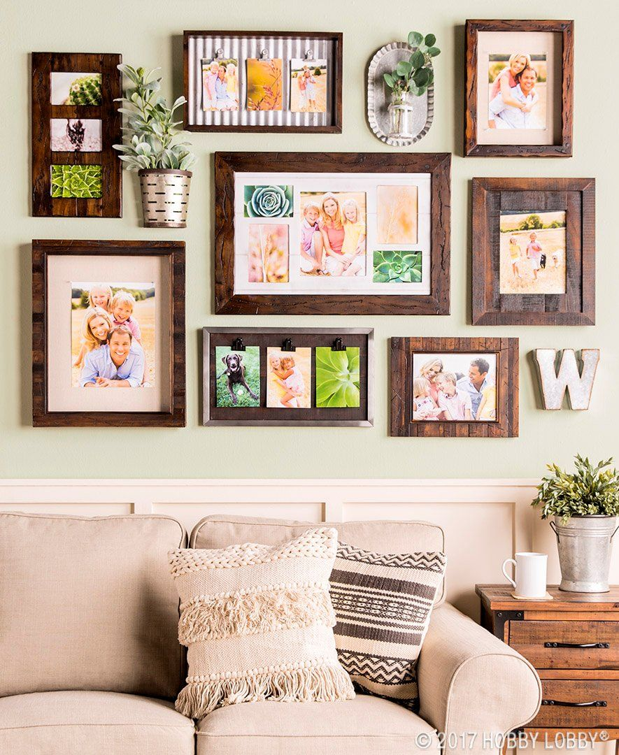Showcase Your Favorite Memories In Style With Farmhouse Frames Living Room Decor Rustic Decor Home Decor