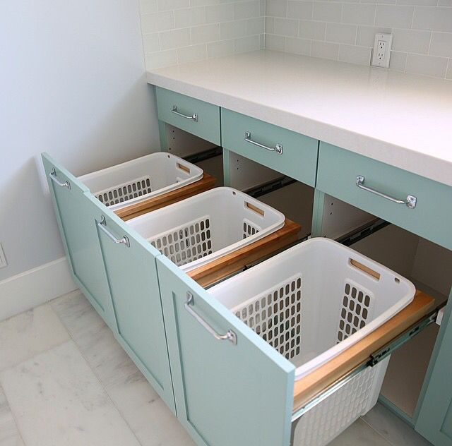 15 Clever Laundry Room Storage Ideas