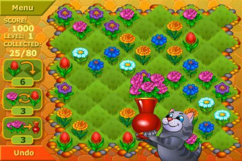 Flower Garden Logical Game S Izobrazheniyami Eksperimentalnaya