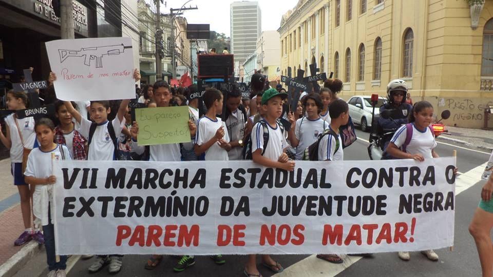 dia 20/11 Marcha da Consciência Negra em Vitória, ES. Foto Jadir Feliciano