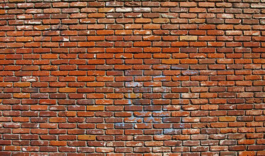 Wall Art The Brick : Red brick wall by jera sky photograph