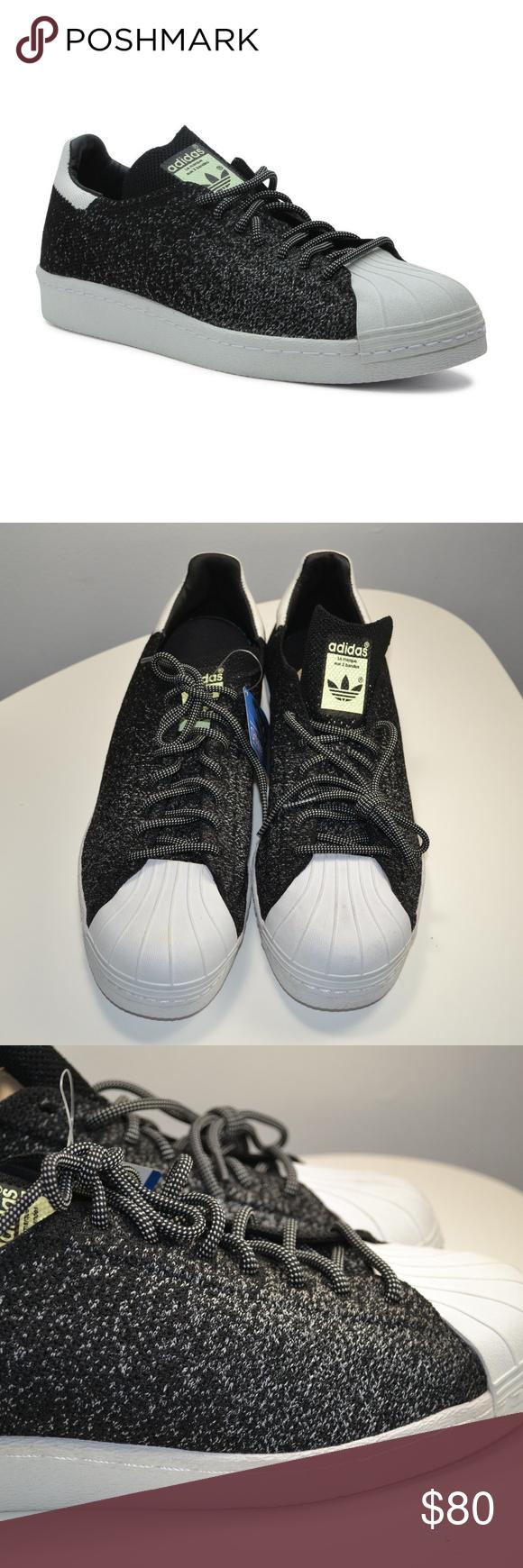 Adidas superstar degli anni ottanta fosforescenti, scarpe sz 12 pinterest