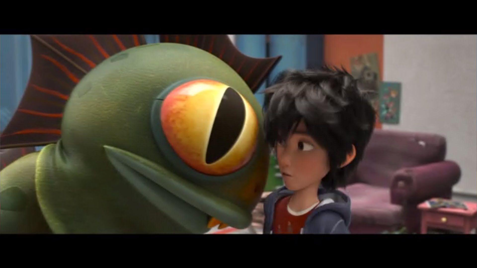 BIG HERO 6 Movie Clip - Meet Fred (2014) Disney Animation Movie