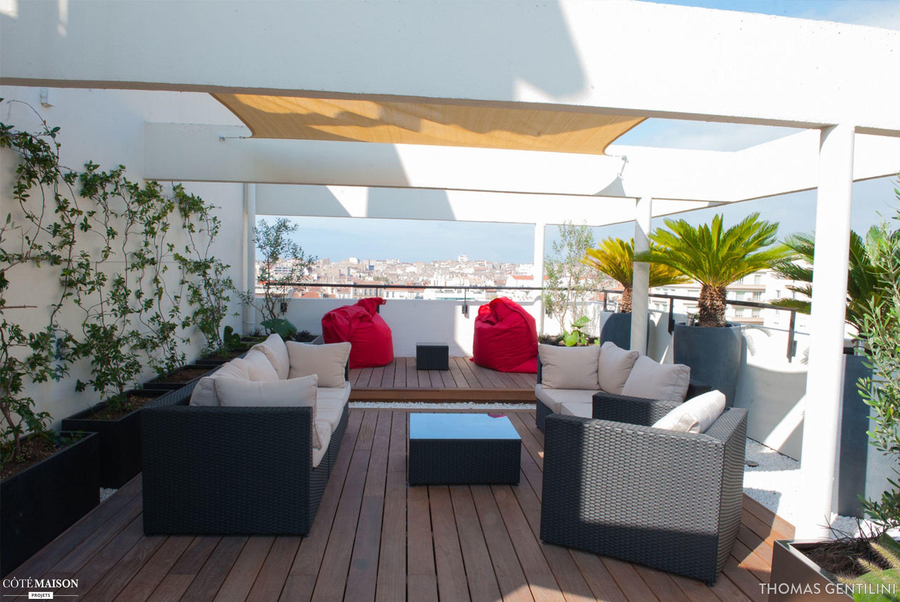 Terrasse Contemporaine En Centre Ville De Marseille Thomas Gentilini Cote Maison Projets Avec Images Terrasse Contemporaine Terrasse Deco Terrasse