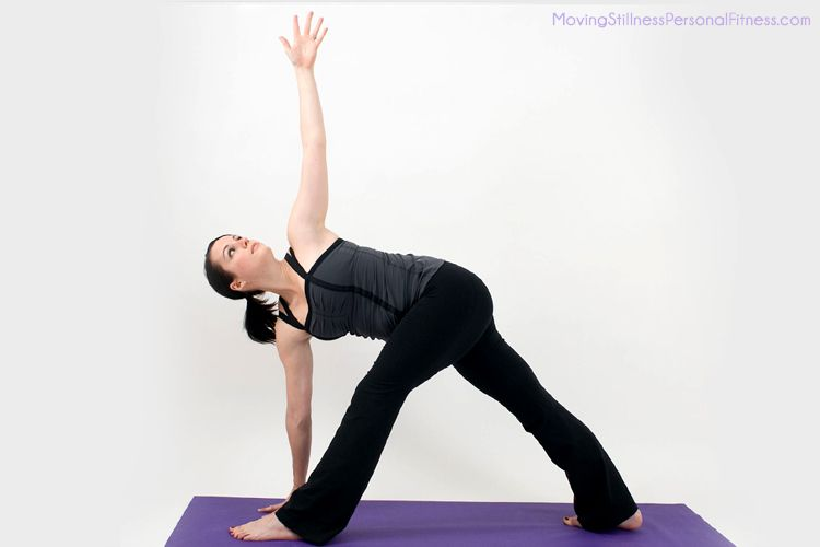 Revolved triangle | * Yoga Poses to Learn & Teach ...