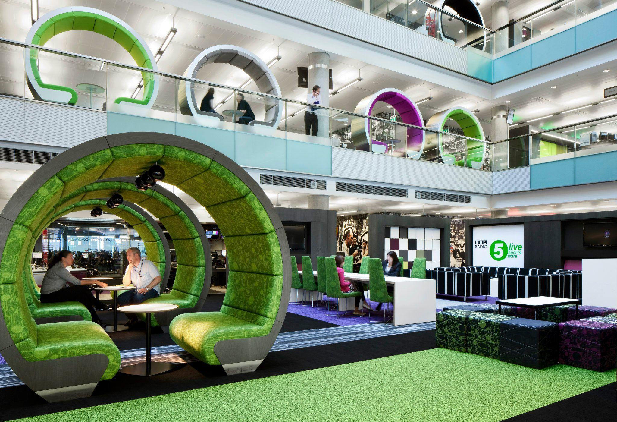 internal office pods. BBC North Office | Atrium Pods Designed By ID:SR \u0026 Sheppard Modern Internal