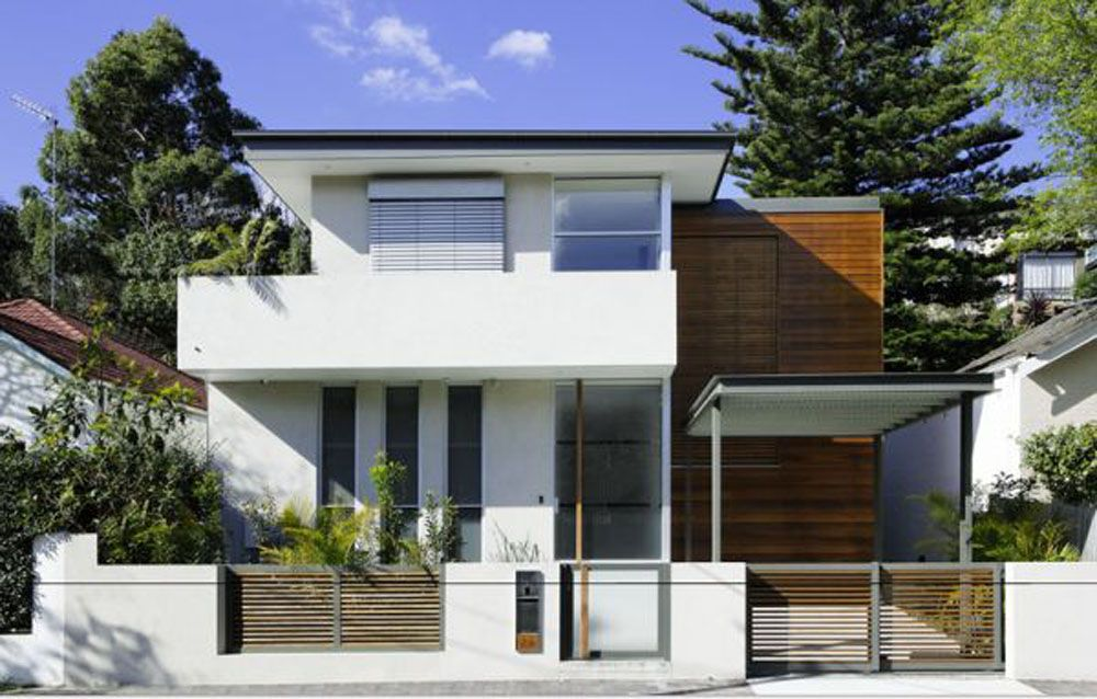 Fascinating Small Modern House Design: Captivating Modern Ideas