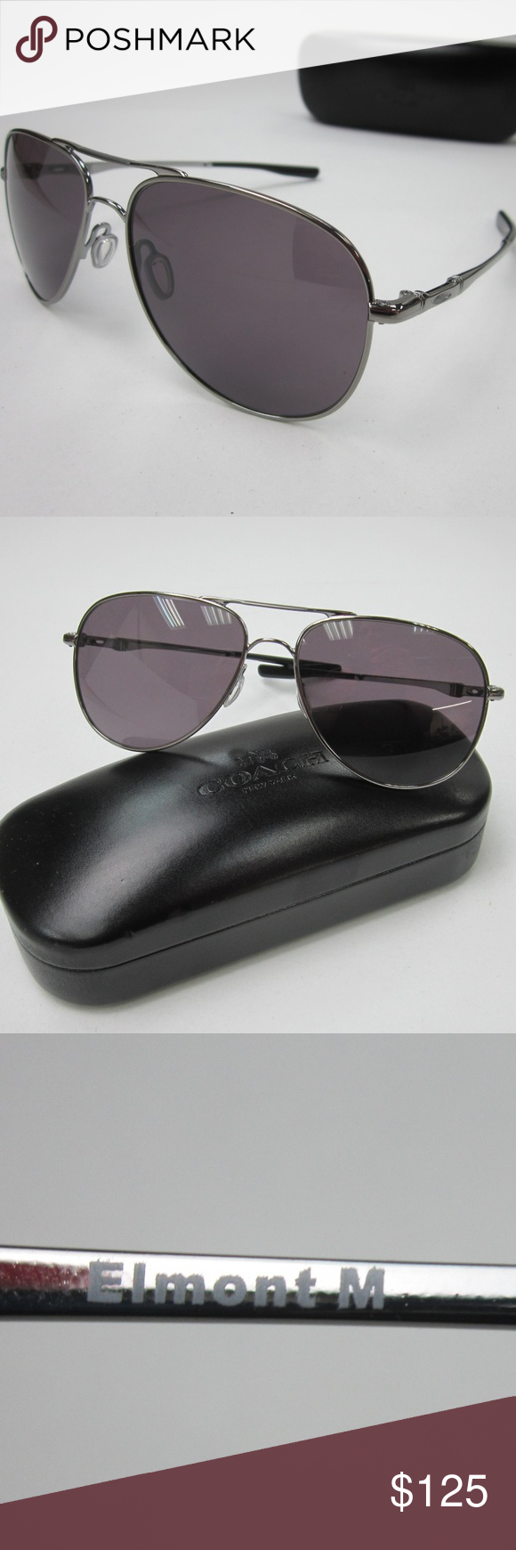 b0d7ad3f73 Oakley OO4119-0158 ELMONT™ Men s Sunglasses OLE748 Oakley OO4119-0158 ELMONT™  Aviator Men s Sunglasses OLE748 100% AUTHENTIC! Great condition.