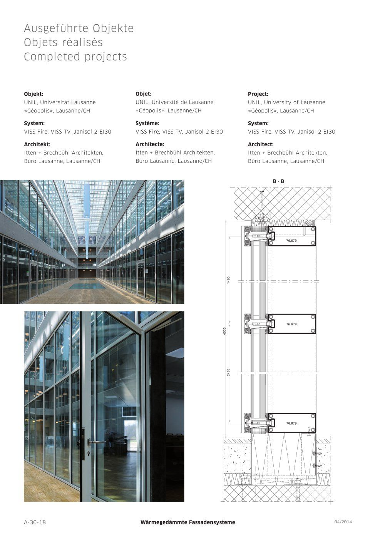 Architecture Catalogue Facade Systems Architecture Hotel De