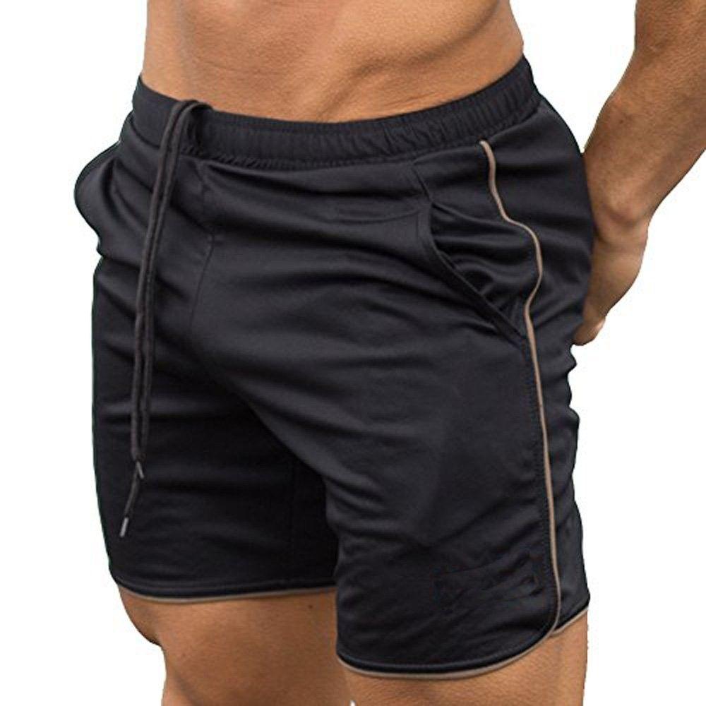 MEN Shorts Gym Training Cotton Running Boxing Size M L XL Navy Unbranded no logo