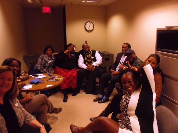 @mrsmadbiz Iowa Black Business Coalition meeting
