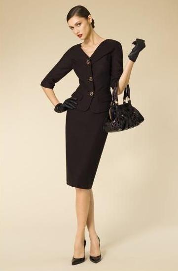 684d8fcefce5a4 Pencil skirt suit set | awesome clothes | Stylish suit, Dress suits ...