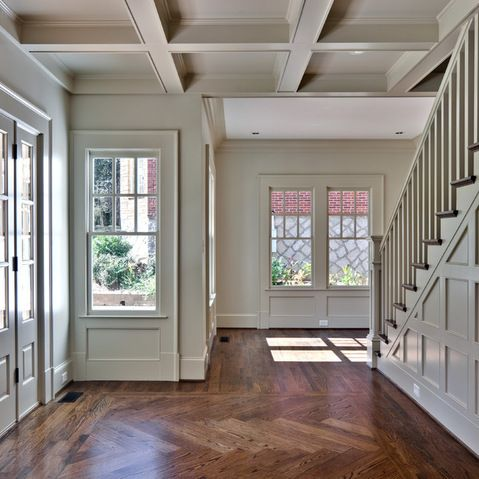 Wall And Trim Same Color Like Color My Paint Deck Pinterest