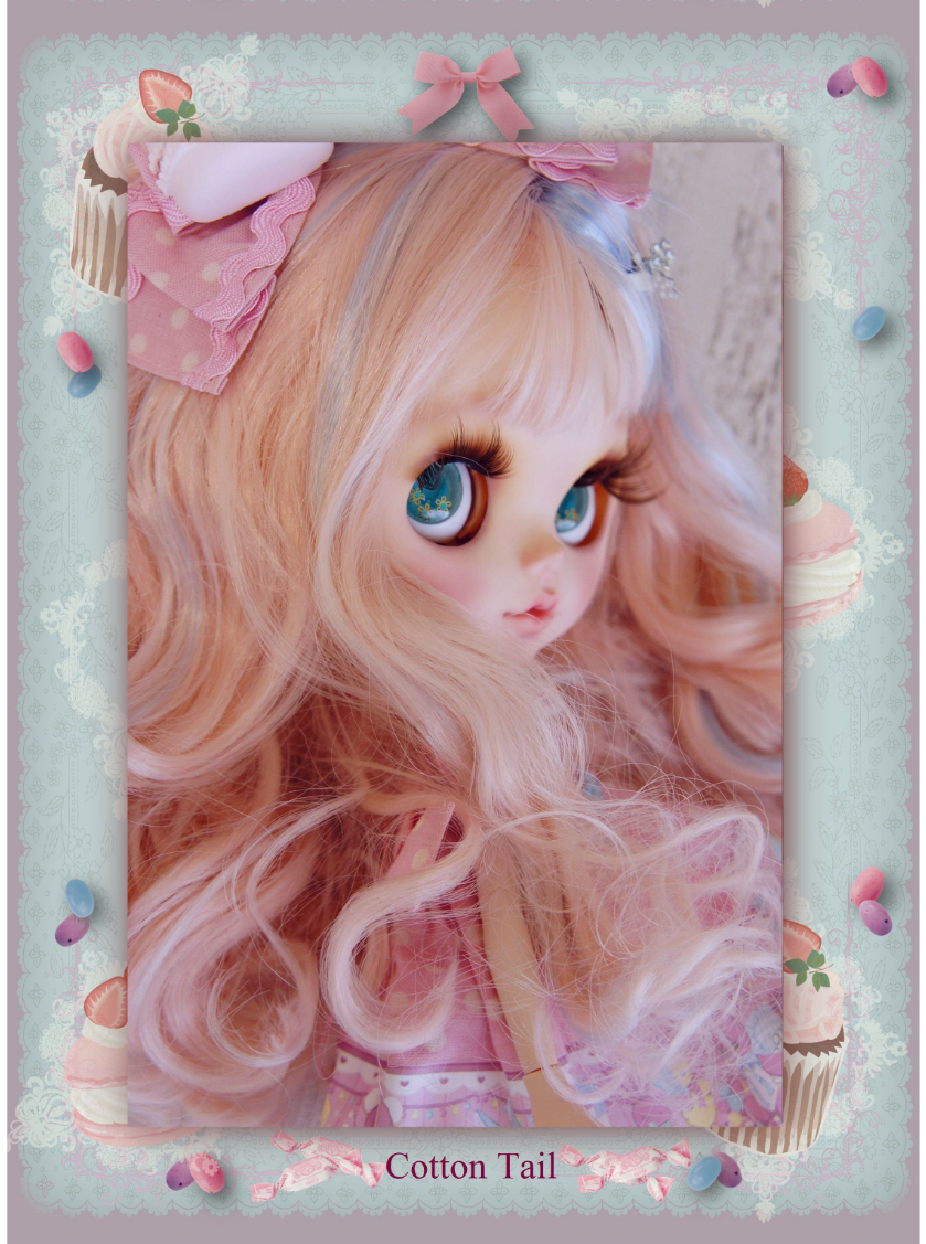 Cottontail Candy Baby メルヘンロリータちゃん カスタムブライス