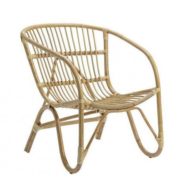 Bloomingville Rattan Chair Lounge Natural