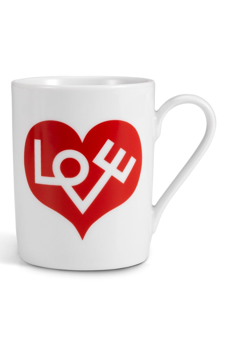 Free Shipping And Returns On Vitra Love Heart Porcelain Coffee Mug At Nordstrom Com Crafted In Smooth Sturdy Porcelain Th Mugs Coffee Heart Alexander Girard