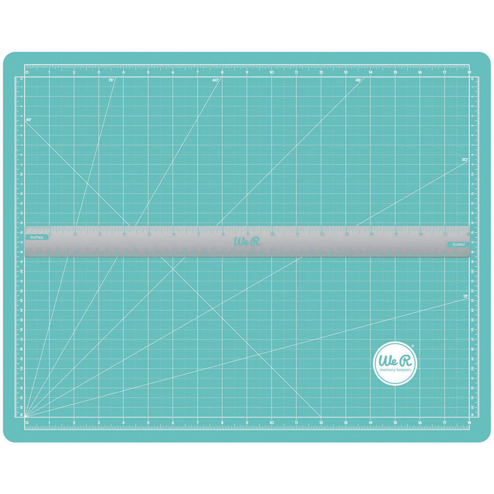 We R Memory Keepers Magnetic Craft Mat And Ruler Cutting Set 400863