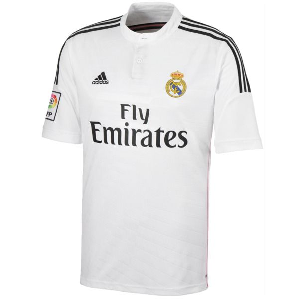 Adidas Real Madrid 2014 15 Official Home Soccer Jersey Model Real Madrid Soccer Jersey Real Madrid 2014