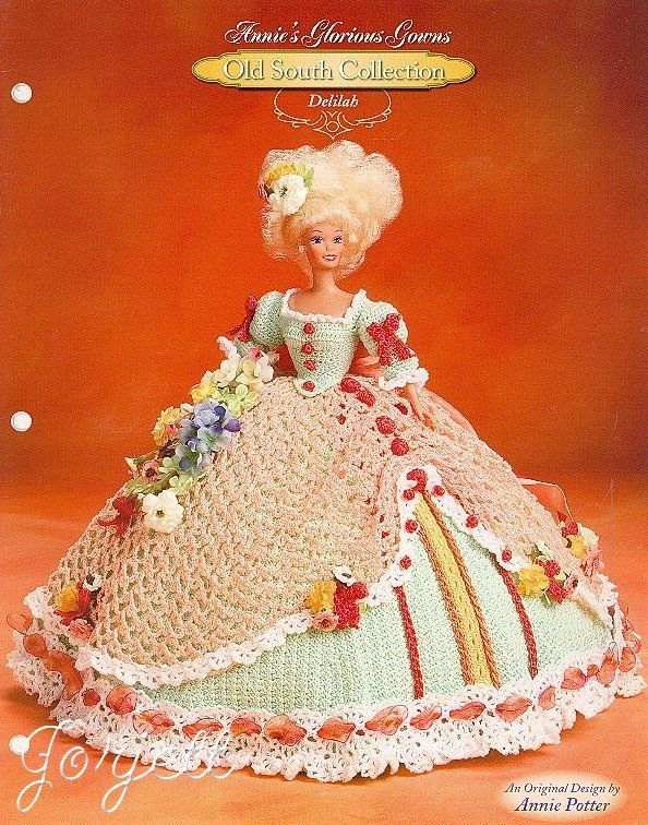 Delilah, Annie's Glorious Gowns Old South Collection crochet patterns
