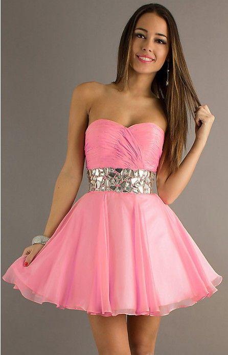 Pink Homecoming Dresses | Dresses | Pinterest | Belleza y Vestiditos