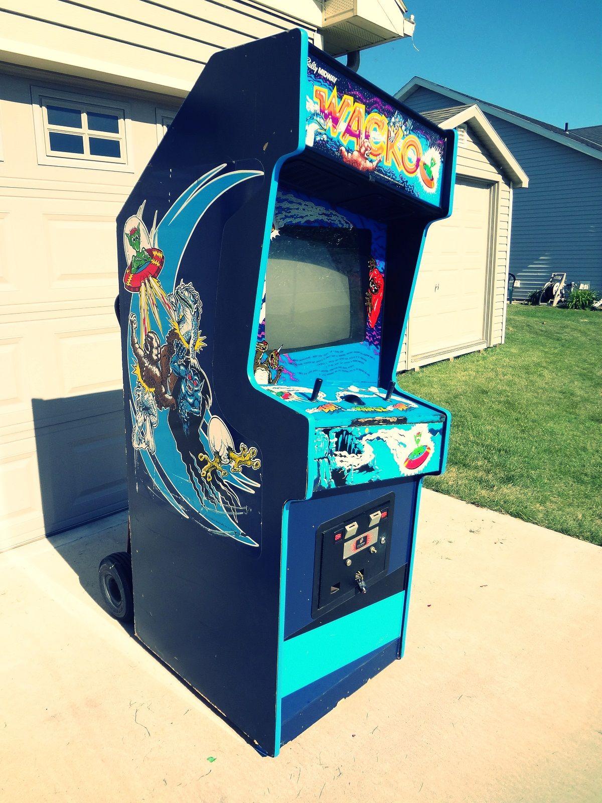 Wacko Arcade Game (1983) retrogaming arcade