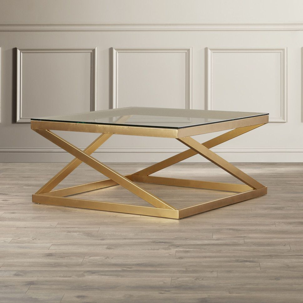 Johannesburg Coffee Table Modern Features: Features: -Z-shaped Side Panels. -Cut-out Base. -Epley