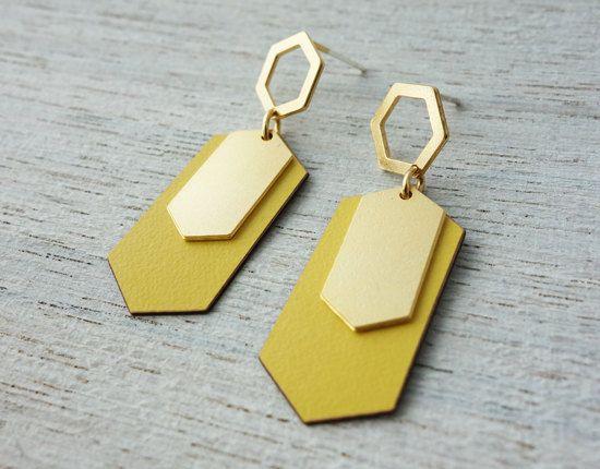 Helsinki Post Earrings geometric jewelry signature earrings
