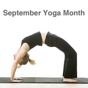 september is yoga month here are 12 different broad