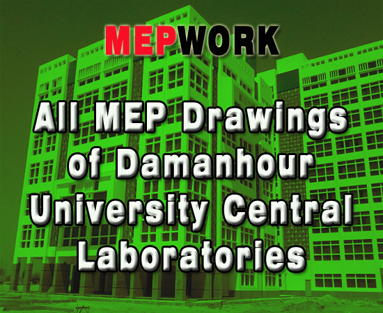 Autocad Mep Drawings For A University Central Laboratories Autocad